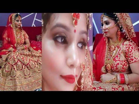 Long Lasting Indian Bridal Makeup Tutorial ///// Lifestyle Nagma thumbnail