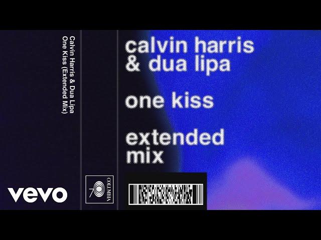 Calvin Harris, Dua Lipa - One Kiss (Extended Mix) (Audio)