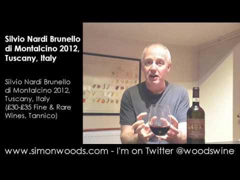 Wine Tasting with Simon Woods: Silvio Nardi Brunello di Montalcino 2012, Tuscany, Italy