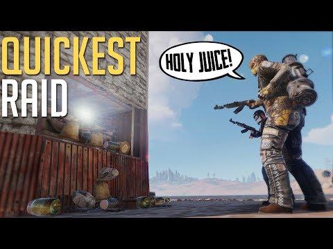 Rust | QUICKEST PROFITABLE RAID EVER (Duo Series)