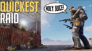 Rust | QUICKEST PROFITABLE RAID EVER (Duo Series)