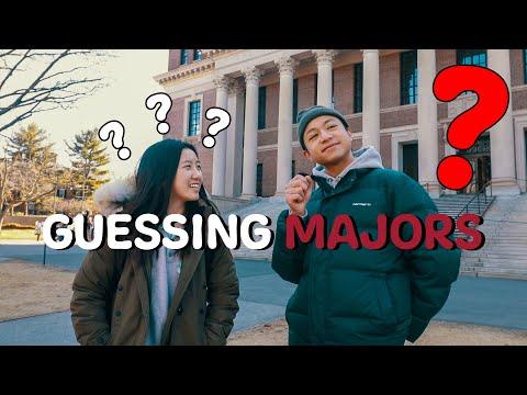 Guessing Student Majors