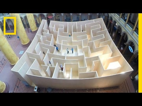 Mazes: Key to Brain Development? | National Geographic