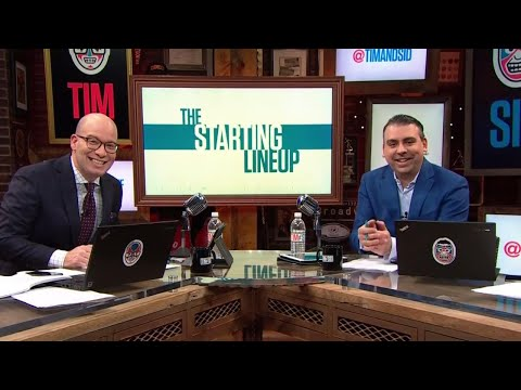 Tim and Sid can totally relate to new superstar sideline reporter Sergio Dipp