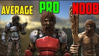 Ark - Every typical player stereotype (Noobs - Leaders)