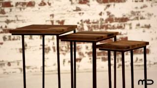Nest Of Tables - Industrial Furniture - Artisan - Milan Direct