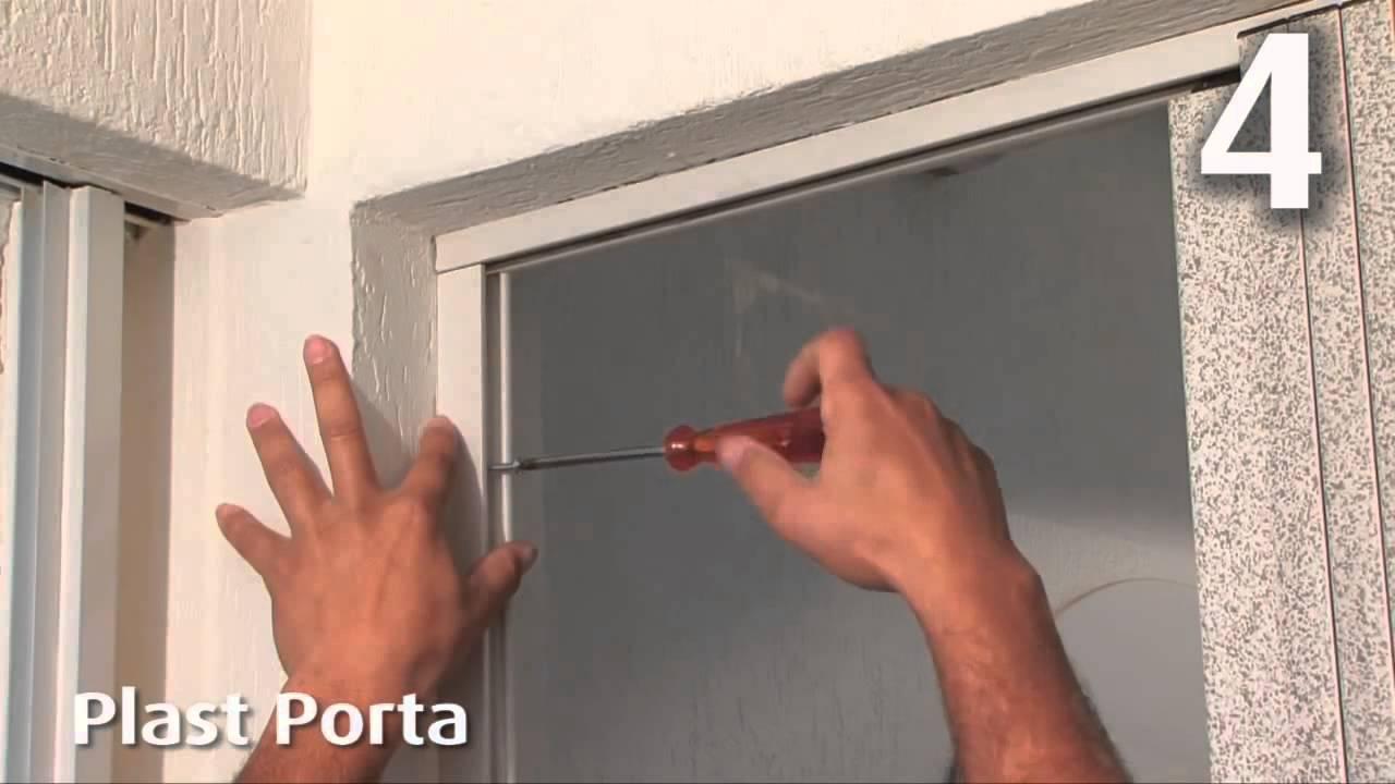 Rgb pvc instalacion puerta plegable bcf youtube - Puerta plegable de pvc ...