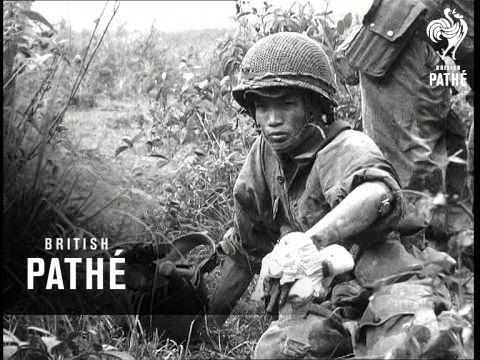 Paratroops Land At Dien Bien Phu (1953)
