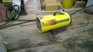 видео Газовые тепловые пушки Ballu BHG-10 / Системы обогрева / Тепловые пушки