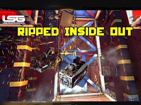 Weapon Rips Ships Inside Out - Space Engineers