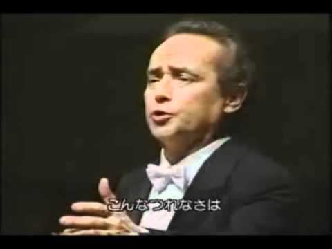 Caro mio ben- Jose Carreras in concert 1997