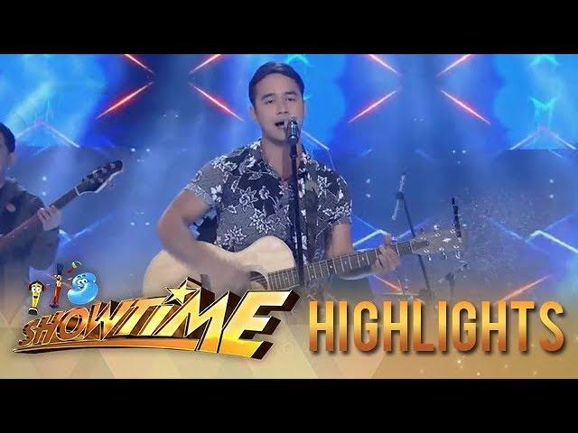 It's Showtime: Kapamilya heartthrob JM de Guzman serenades the madlang people