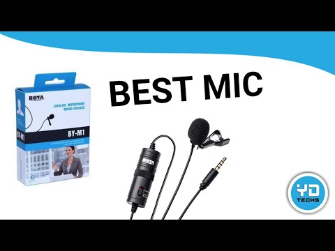 Best Budget Lavalier Microphone For Smartphones , DSLR & Youtube Video Recording BOYA BY M1 Unboxing