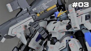 ガンプラ MG FAZZ Ver.Kaの制作 #03 塗装・完成編 ガンダム センチネル Gundam custom build  1/100 MG FAZZ Ver.Ka #03