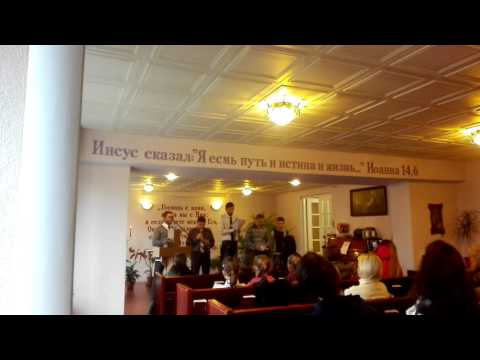 Christian choir, Hope Church, Valga, Estonia