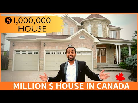 INSIDE A $1,000,000 HOME IN CANADA 🇨🇦