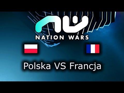 Polska VS Francja - Ro16 Grupa C Mecz 5 - Nation Wars 2019 - polski komentarz