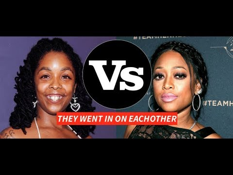 Trina and Khia GO AT EACHOTHER and Throw insults back and forth YEARS LATER, Says Trina Has Writer