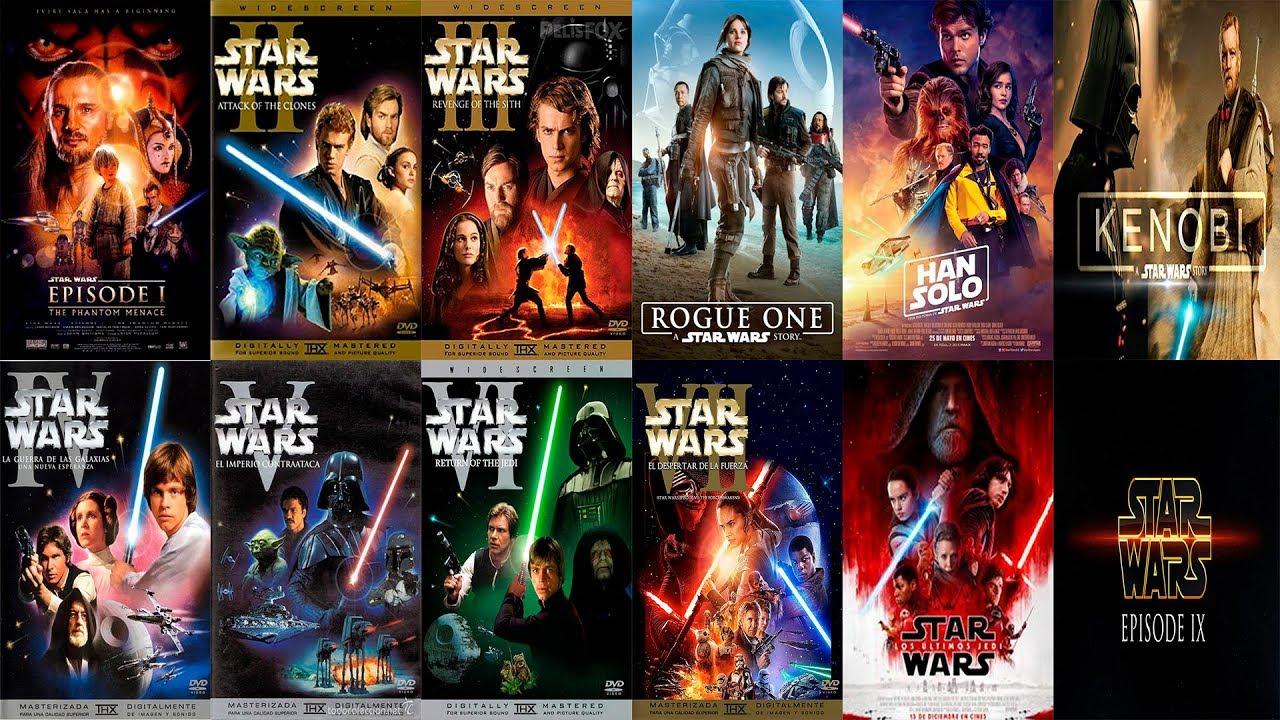 El Orden Cronológico Para Ver Las Películas De Star Wars Az Tops Youtube