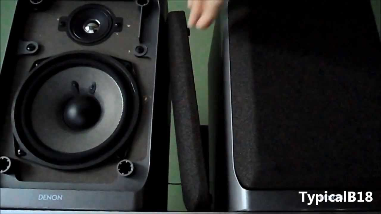 Denon USC 60 Bookshelf Speakers 2nd Look Demo