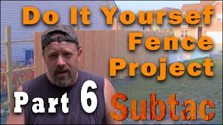 Do It Yourself Fence Project Part 6   Getting All Your Posts In A Row