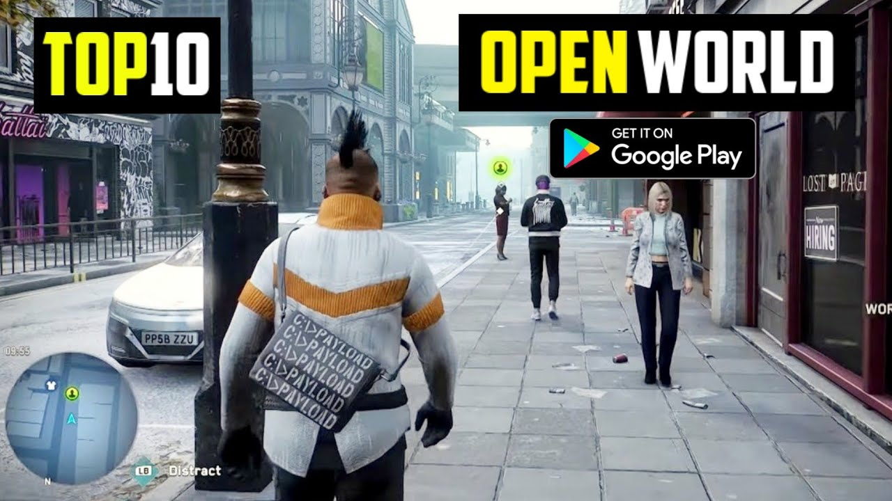Download Top 10 New OPEN WORLD Games for Android 2021| 10 Best Open World Games for Android