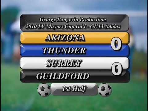 2010 10 23 SURREY GUILDFORD  1   AZ THUNDER  0  GU13 GK
