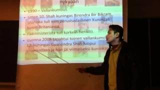 Udeep speaks of the Nepali history