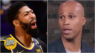 Richard Jefferson calls out Anthony Davis: Now is your time to carry the Lakers! | The Jump