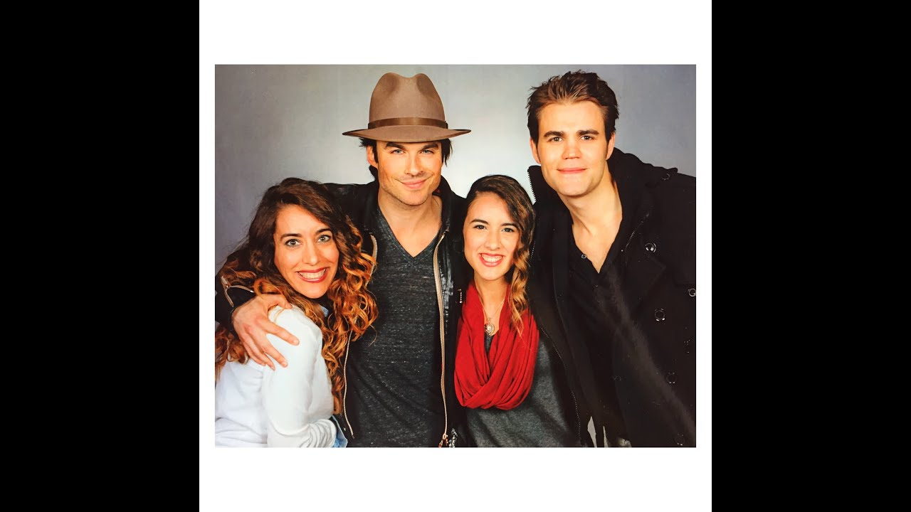 I met ian somerhalder and paul wesley youtube m4hsunfo