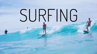 HAWAII: WE WENT SURFING!