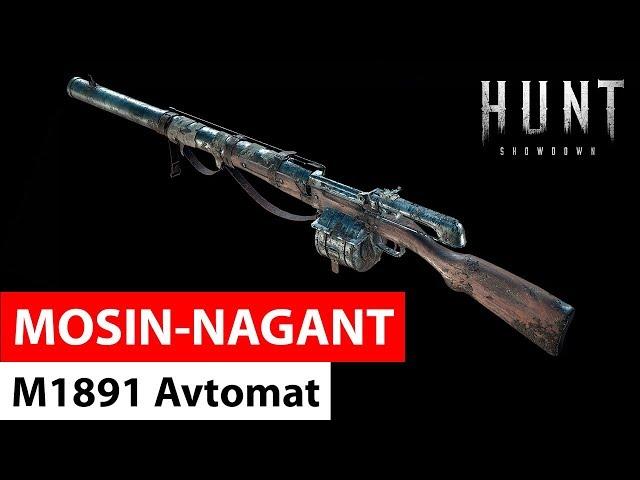 Mosin Nagant M1891 Avtomat | Hunt: Showdown