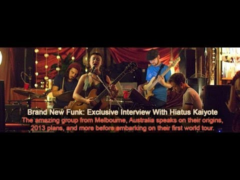 Hiatus Kaiyote (@HiatusKaiyote) Interview With Embassy: Interactive