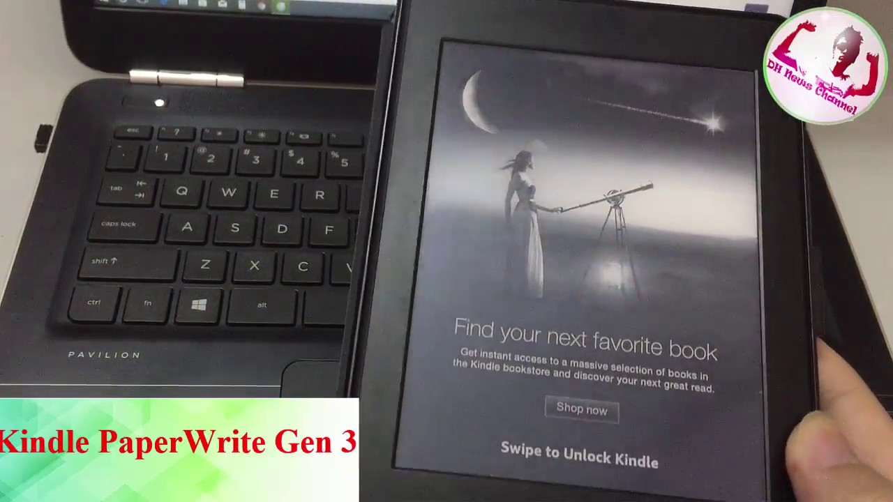 GÓC REVIEW | Kindle PaperWhite Gen 3 | ĐH News Channel