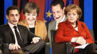 La digue du cul, chanté par Sarko et Merkel