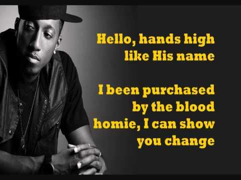 High (feat. Suzy Rock & Sho Baraka) - Lecrae - lyrics on screen