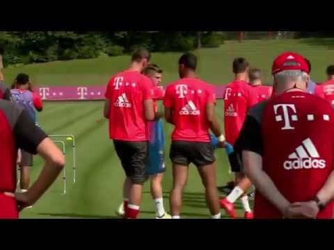 FC Bayern's 1st Training under Carlo Ancelotti