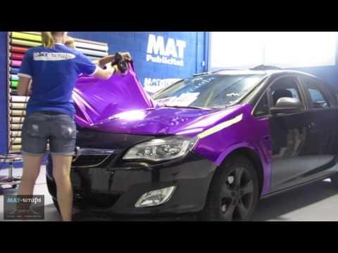Opel Astra - Purple Chrome & Mate