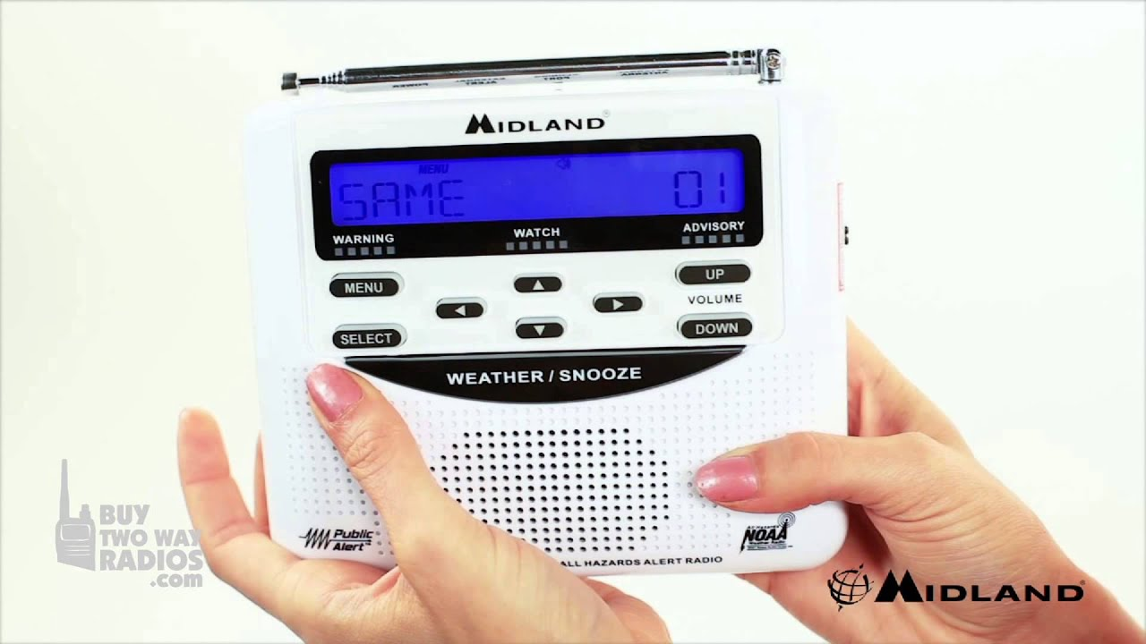 How To Program the Midland WR-120 Weather Radio