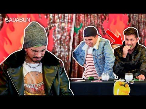 YouTubers Hombres VS Los Chiles más picantes del mundo