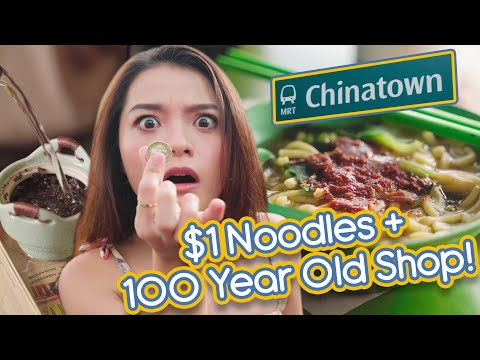Singapore's Chinatown: Places You Didn't Know Existed!: Challenge Accepted Ep. 2