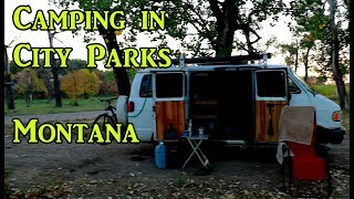Free Camping in Montana City Parks - VanLife On the Road