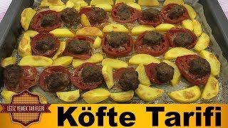 Fırında Pratik Patatesli Köfte Tarifi | Patatesli Köfte Nasıl Yapılır ?
