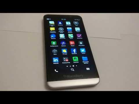 Первое впечатление от BlackBerry Z30