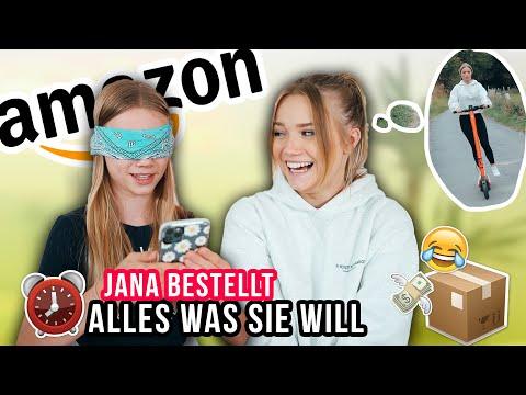 JANA BESTELLT 5 MIN BLIND BEI AMAZON, WAS SIE WILL (und hinkriegt lol) - Julia Beautx