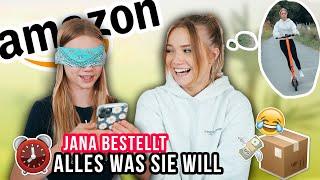 JANA BESTELLT 5 MIN BLIND BEI AMAZON, WAS SIE WILL (und hinkriegt lol)