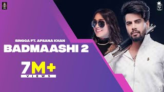 Badmaashi 2 Singga Afsana Khan Free MP3 Song Download 320 Kbps