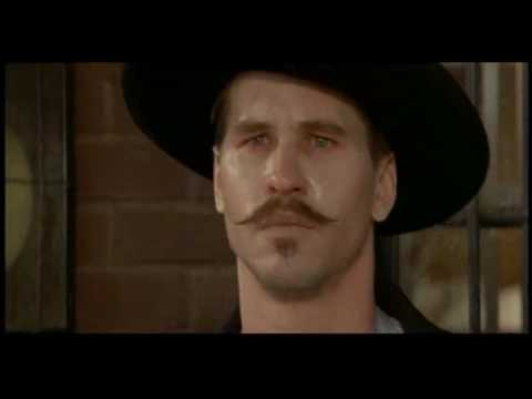 Doc Holliday in Tombstone - YouTube