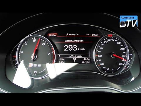 2014 Audi RS6 Avant (560hp) - 0-293 km/h acceleration (1080p)