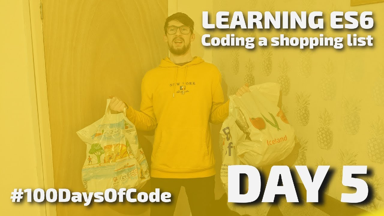 Learning ES6 - How To Code a Shopping List
